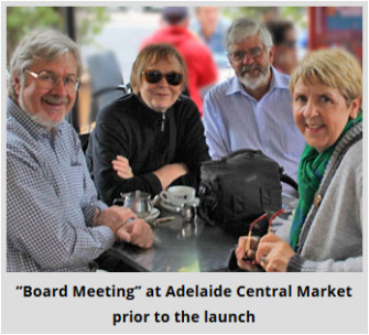 Forbes Board Meeting before the Adelaide Launch